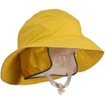 Tingley H53237-L Industrial Work Sou'wester Lined Hat  - Yellow