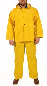 Tingley S53307-4X Industrial Work 3 Pc. Suit - Yellow