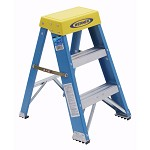 Werner 2 ft Fiberglass Step Stool 6002 Model