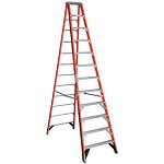 Werner 12 ft Fiberglass Single Sided Stepladder 7400 Series