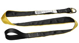 Werner Cross Arm Anchor Strap with Loop and D-Ring- 6 ft