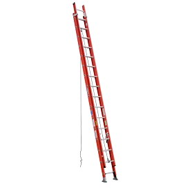 Werner 32 ft. Fiberglass D-Rung Extension Ladder D6200-2 Series