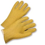 West Chester 3115 Vinyl Coated Seams Out Gloves Size L - 12 pr.