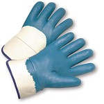 West Chester 4550 Palm Coated Nitrile Smooth Finish Gloves with Safety Cuff Size XL - 12 pr.