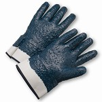 West Chester 4550RFFC Fully Coated Nitrile Rough Finish Gloves Size L - 12 pr.
