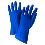 West Chester 52L101 Premium Latex Gloves with Pinked Cuff Size 9 - 12 pr.