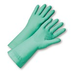 West Chester 52N101 Unlined Premium Nitrile Gloves with Sandy Palm Patch Size 8 - 12 pr.