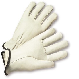 West Chester 999 Select Top Grain Cowhide Leather Driver Gloves Size XL - 12 pr.