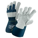 West Chester IC8DP Ironcat Premium Heavy Split Cowhide Leather Double Palm Gloves Size XL - 12 pr.