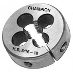 Champion 328-7/8-9 Screw Adjustable Round Die