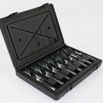 Champion XL12-8P Brute Platinum Silver & Deming Split Point Shank Drill Bit Set