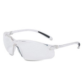 Uvex A700 Wrap-Around Hardcoat Clear/Clear Safety Glasses - 10 pk.
