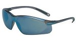 Uvex A700 Wrap-Around Hardcoat Gray/Blue Mirror Safety Glasses - 10 pk.