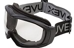 Uvex Sub-Zero Cold Weather Hydroshield Anti-Fog Black/Clear Safety Goggles