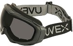 Uvex Sub-Zero Cold Weather Hydroshield Anti-Fog Black/Grey Safety Goggles