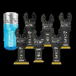 Imperial Blades 6 pc. One Fit Oscillating Tool Blade Variety Pack