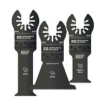 Imperial Blades 3 pc. One Fit Oscillating Tool Blade Variety Pack