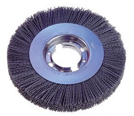 "Osborn 12"" x 2"" x 1"" 80 Grit Silicon Carbide ATB Master Wheel Brush - 2 pk."