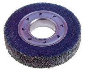 "Osborn 6"" x 2"" x .012"" Ty Encapsulated Wide Face Standard Duty Wheel Brush"