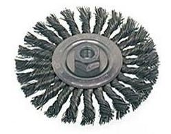 "Osborn 6"" x 5/8-11NC x .010"" Stainless Steel Knot Wire Wheel Brush - 12 pk."