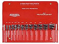 Osborn 14 pc. Helituf Crimped Wire Internal Brush Kit
