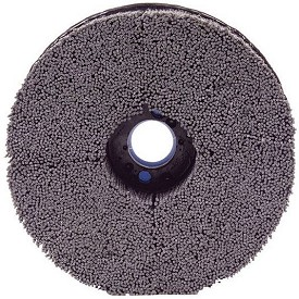 "Osborn 4"" x .035"" 180 Grit ATB Uni-Lok Max Density Round Crimped Brush"