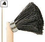 Osborn 1-KNOT Hardwood Handled Roof Brush - 12 pk.