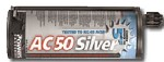 Powers Fasteners 28 fl. Oz. AC50 Silver Cartridge Adhesive Anchor - 8 pk