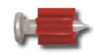 "Powers Fasteners 1-1/2"" Shank .300"" Head Drive Pin - 100 pk"