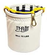 Ty-Flot by Proto Anti-Spill Bucket with 10 Snap Hooks