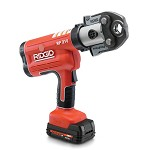 Ridgid Compact Series Cordless Press Tool Kit with ProPress Jaws 1/2