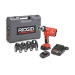 Ridgid Compact Series Cordless Press Tool Kit with PureFlow PEX Jaws 1/2