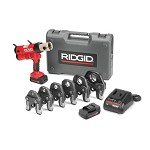 Ridgid Compact Series Cordless Press Tool Kit with 1/2