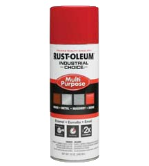 Rust-Oleum 1660830 12 oz. Spray Paint- Safety Red