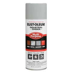 Rust-Oleum 214647 12 oz. Spray Paint- ANSI 70 Light Gray