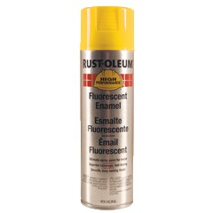 Rust-Oleum 2242838 15 oz. Spray Paint- Fluorescent Yellow