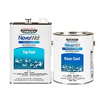 Rust-Oleum 277248 2 Gal. Coating Kit- Top Coat and Base Coat
