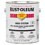 Rust-Oleum 282111 1 Gal. Floor Coating- Silver Gray