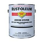 Rust-Oleum AS9144425 1 Gal. Floor Coating Kit- Safety Yellow
