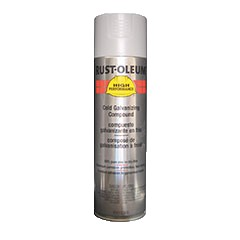 Rust-Oleum V2185838 20 oz. Spray Paint- Cold Galvanizing Compound