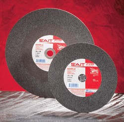 "Sait 20"" x 3/16"" A36R Burr-Free Stationary Saw Cut-Off Wheel - 5 pk."
