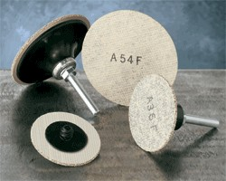 "Sait 3"" A54F LOK-R Cotton Fiber Finishing Disc - 25 pk."