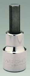 Wright Tool 8mm Hex Bit Socket with 1/2