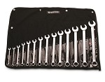 Wright Tool 11 pc. Combination Wrench Set 714