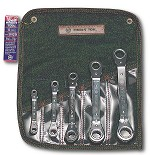 Wright Tool Reversible Ratcheting Box Wrench Offset Pattern Set 9429