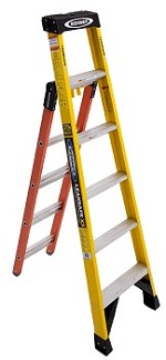 Werner Leansafe X3 Multi-Purpose Ladder - 375lb Load Capacity